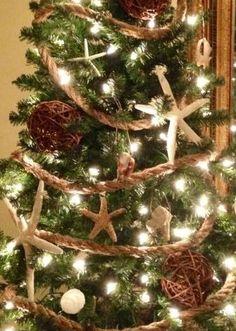 Beachy Christmas Tree