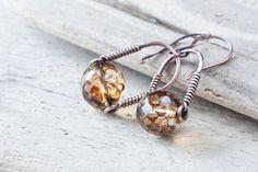 Modern Minimalist Earrings - by CookOnStrike from Etsy