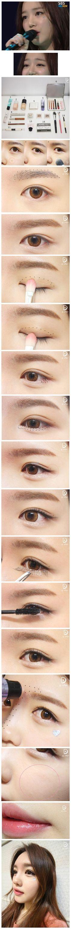 Korean make up ⭐️⭐️ |   #JoinNerium #DebbieKrug #NeriumKorea www.AsianSkincare.Rocks