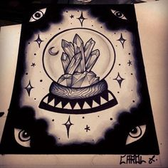 crystal traditional tattoos - Google Search