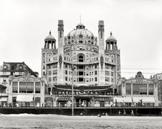 Marlborouh Blenheim Hotel, atlantic city.  Made of Edison Concrete.  Imploded.  Now site is Bally's