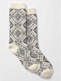 Nordic boot socks