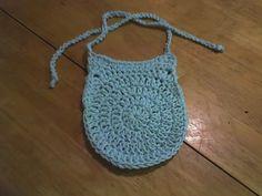 Deb's Crafts: Circle Baby Bib Free Crochet Pattern