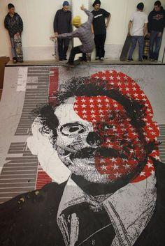 Orticanoodles - Duo di street artists milanesi, Walli ed Alita - Italia