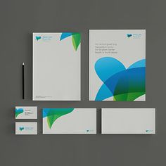 Identity for a Healthcare group in Wales, created by View Creative - www.viewcreative.co.uk #Branding #identity
