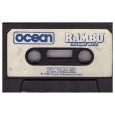 Rambo: First Blood Part II Tape Only for ZX Spectrum from Ocean