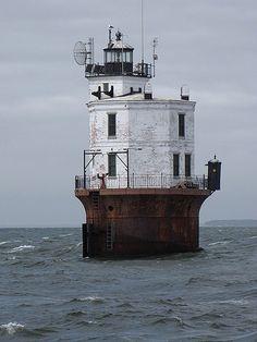 Smith Point Lighthouse, Chesapeake Bay, Virginia