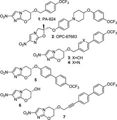 Delamanid..........an experimental drug for the treatment of multi-drug-resistant tuberculosis.