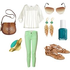 Super cute! I've never worn pants in these type of colors, but would like to eventually :)