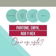 Kary Fernández | Diseño (@karyfernandez.design) Sistemas de Color ¿Cuándo usar cada uno? Pantone, Diagram, Branding, Colors, Brand Management, Identity Branding