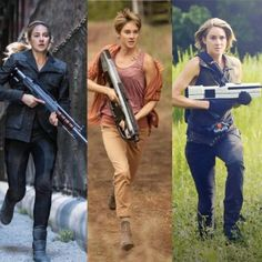 The evolution of Tris Prior #Divergent #Insurgent #Allegiant