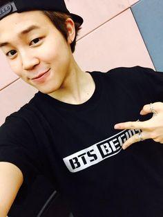 BTS Tweet - Jimin (selca) 150326