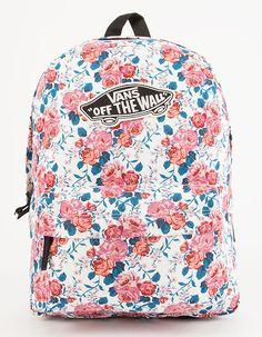 VANS Hana Floral Realm Backpack - WHTCO - GBG341HANA 06d9fd23d7