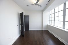 Bedroom of our 780 square foot One Bedroom, One Bath, Luxury Loft @10 Lafayette, Buffalo, NY.