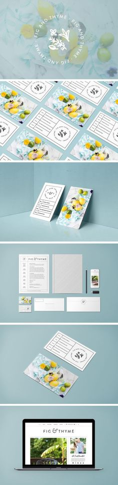 Fig and Thyme Branding by White Oak Creative   Fivestar Branding – Design and Branding Agency & Inspiration Gallery