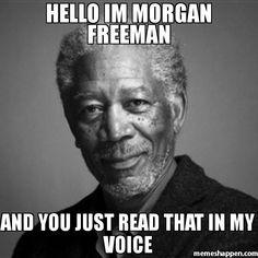 Morgan Freeman does Justin Bieber