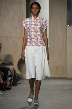 A look from the Creatures of the Wind Spring 2015 RTW collection.