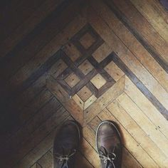 Builders Surplus on Instagram: Celtic knot in hardwood floors makes for an impressive detail in...