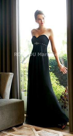Robe de soirée pas cher décolleté en coeur sans bretelle Prix : €85,99 Lien pour cette robe : http://www.robedumariage.com/robe-de-soiree-bustier-en-coeur-taille-empire-perlee-brodee-jupe-longue-mousseline-de-soie-product-1820.html -45% sur tous les produits immanquable !!!!