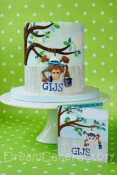 1st Birthday cake by Dutch cake maker Eline Vedder Monaster