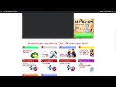Backoffice de Lazy Millionaires League - www.davidymiriam.com Aquí te enseñamos como funciona nuestro negocio desde dentro