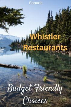 Whistler is a spectacularly beautiful resort town that is filled with thrilling winter and summer activities. But where should you eat? If you want some fantastic food at reasonable prices, look no further! Here are the Whistler restaurants that a local Whistler, Alberta Canada, British Columbia, Travel Guides, Travel Tips, Work Travel, Budget Travel, Canada Destinations, Canada Summer