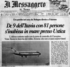 Il Messaggero, sabato 28 giugno 1980, dopo la strage di Ustica