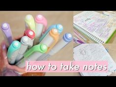 How to take AMAZING notes | Study Effectively!! - YouTube