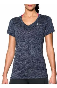 Under Armour Women S Twisted Tech V Neck Shirt Clothes For College