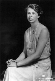 "Eleanor Roosevelt (1884-1962): early feminist, First Lady, philanthropist, civil rights activist, women's education promoter, outspoken on racial discrimination...  Adlai Stevenson said, ""What other single human being has touched and transformed the existence of so many?...She would rather light a candle than curse the darkness, and her glow has warmed the world."""