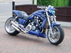Cool Custom Blue VMAX