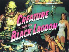 Gif animé Artiste - Creature of the black Lagoon