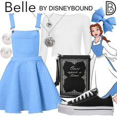 DisneyBound is meant to be inspiration for you to pull together your own outfits which work for your body and wallet whether from your closet or local mall. As to Disney artwork/properties: ©Disney Disney Bound Outfits Casual, Cute Disney Outfits, Disney Themed Outfits, Disneyland Outfits, Disney Dresses, Princess Inspired Outfits, Disney Princess Outfits, Disney Inspired Fashion, Disney Fashion