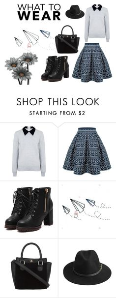 """""""What to wear"""" by kristin-k1234 on Polyvore featuring Edit, Rumour London and BeckSöndergaard"""