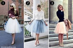 Tulle Skirts Collage 2