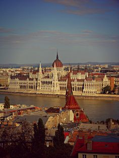 Parlamento ungherese e Danubio, Budapest