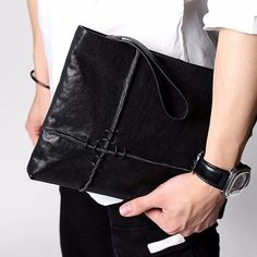 Complete your outfit with this stylish leather clutch. Order yours from the link below: ______________________________________ https://ift.tt/2Gwyo3K ______________________________________ #leatherbag #leatherclutch #giftforhim #productphotography #design #contemporarydesign #fashion #designer#designstuff #minimal #design #creativity #simplicity #minimalism #CityMen #CityStyle #SmartLook #MensFashion#menstyle #menfashion #streetstyle #streetfashion #lovefashion #lovebag #giftsfordesigners…
