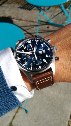 Best Picture For watch diy For Your Taste You are looking for something, and it is going to tell you exactly what you are looking for, and you didn't find … Fancy Watches, Trendy Watches, G Shock Watches, Breitling Watches, Luxury Watches For Men, Vintage Watches, Cool Watches, Iwc Chronograph, Watch Diy