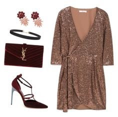 """""""Untitled #946"""" by n2288851 on Polyvore featuring Brian Atwood, MANGO, Yves Saint Laurent and Humble Chic"""