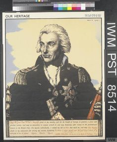 The Rt. William Pitt, the younger; Poster from the series 'Our Heritage'; By Robert Sargent Austin; Victoria And Albert Museum, Yellow Background, World War Two, Two By Two, Artwork, Prime Minister, Collections, London, Search