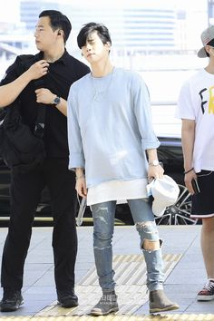 170623 Onew, Jonghyun, Key, Minho - Incheon International Airport to Bangkok