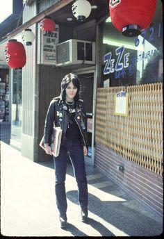 Joan Jett in L.A. (1977). Photo by Brad Elterman