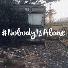#nobodyisalone #mentalhealthblogchallenge  Nobody is alone - discussing mental health.
