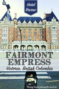 Wondering where to stay in Victoria, BC? My review of the family-friendly Fairmont Empress Hotel. A great place to stay when traveling to Victoria with kids!