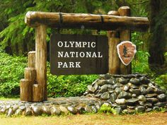 Olympic National Park, Washington - The park's 922,650 acres has four basic regions: the Pacific coastline, alpine areas, the west side temperate rainforest and the forests of the drier east side.