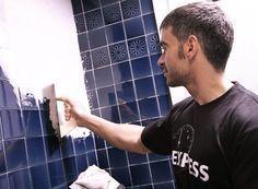 Renovar los azulejos del baño y cocina sin obras - Descubre más sobre bricolaje y decoración en: www.BricoPared.com
