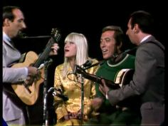 We saw Peter, Paul, Mary on all the big musical TV shows in the 60's and 70's. Here they are guesting on The Andy Williams Show singing ' Kisses Sweeter Than Wine.'