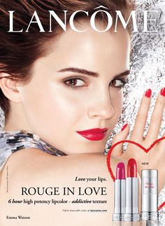 Lancôme Advertising with Emma Watson