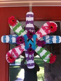 Snaps of Ginger: DIY Flip-flop Wreath