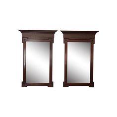 Image of Neo Classical Baker Mirrors - Pair